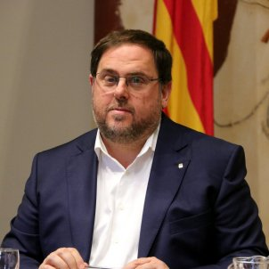 Vice-president Junqueras sends a letter from prison to the editor of 'El Nacional'
