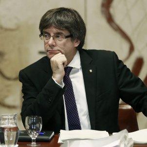 Catalan president Puigdemont prepared to defend himself to the Spanish Senate