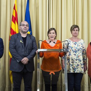 """""""Not one step back"""" promises speaker of threatened Catalan parliament"""