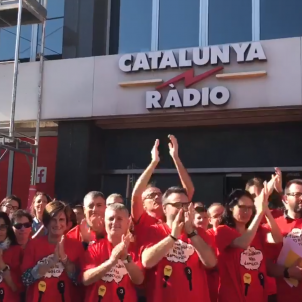 Staff at Catalan public broadcasters stand up to threat of intervention