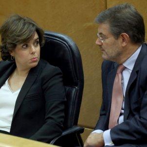 Main Spanish parties agree a gradual intervention in Catalan autonomy