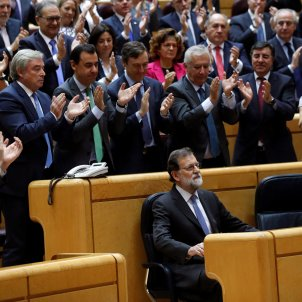 """Rajoy: """"Spain is winning against those who want to destroy it"""""""