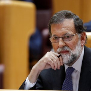"Rajoy, in the face of independence: ""The rule of law will restore the law in Catalonia"""