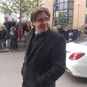 Puigdemont still in Brussels
