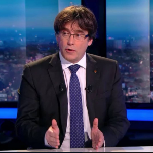 "Puigdemont: ""I'm willing to be a candidate"""