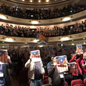 Moving support for Catalonia in a Scottish convention