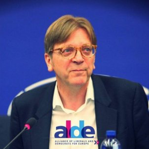 Belgian MEP Guy Verhofstadt criticises imprisonment of Catalan leaders