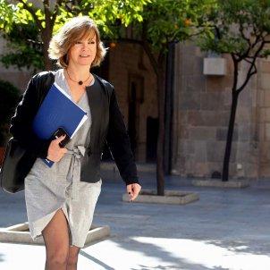 Catalan minister Borràs, injured in prison