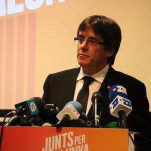 Puigdemont's Bruges speech resounds in international media