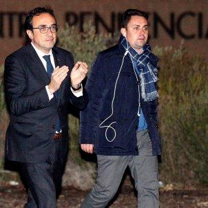 Catalan ministers Rull, Turull, Romeva and Mundó leave prison