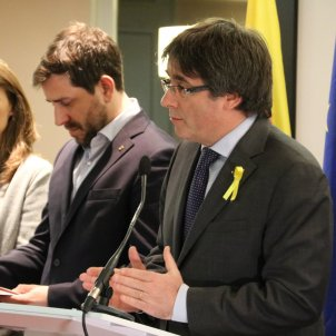 """Puigdemont: """"Spain was afraid, that's why they cancelled the arrest warrants"""""""
