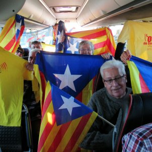 Protest at European Parliament: 64 buses, 2 charter flights from Catalonia full