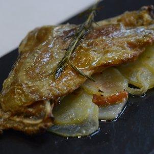 Catalan classics: Most easy roast goat shoulder