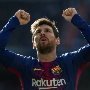 """Messi to stay at Barça if Catalonia becomes independent if it plays in a """"first-class league"""""""