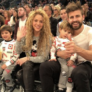 "Shakira and Piqué joke about their ""crisis"" in New York"