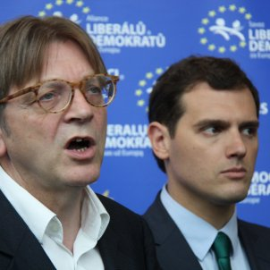 """Euro liberal Verhofstadt accused of hypocrisy: """"Why condemn Poland and not Spain?"""""""