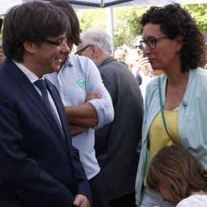 Puigdemont and Rovira lead summit meeting of Catalan independence in Geneva