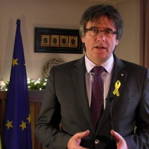 Puigdemont makes it clear to Rajoy in New Year speech that he won't give in
