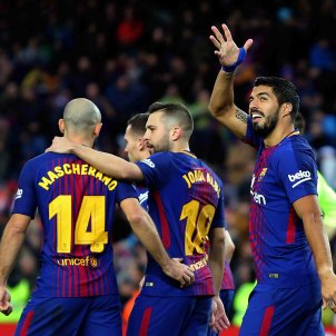 Barça scores three goals to celebrate Coutinho signing