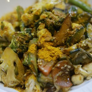 Healthy January: a vegetable stir-fry