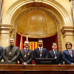 Pro-independence parties regain control of the Catalan Parliament