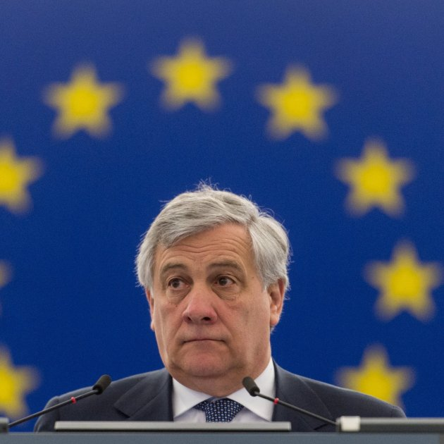 The day that Antonio Tajani revealed his sympathy for a Catalan unionist group