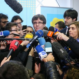 International media on the Constitutional Court's second veto of Puigdemont