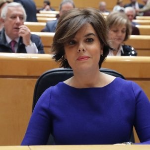 Spanish government warns it will block a symbolic investiture