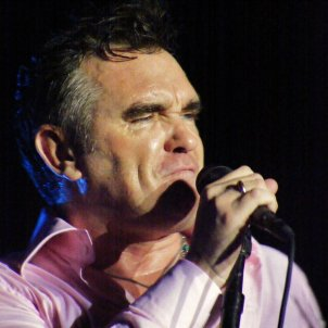 Morrissey uses images of Catalan referendum attacks in his world tour