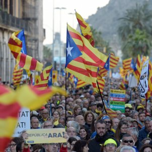 Catalan independence movement, fully mobilized for arrival of Sánchez on Friday