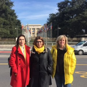 "Relatives of the political prisoners make a ""cry for help"" at the UN"