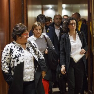 Rovira, Forcadell, Bassa resign as deputies before appearing in the Supreme Court