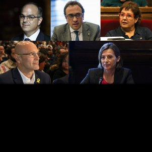 Judge sends Catalan deputies Turull, Rull, Romeva, Forcadell and Bassa to prison