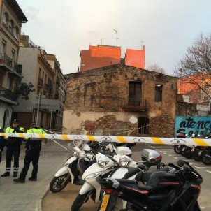 Barcelona youth centre burnt down, graffitied with nazi and fascist symbols