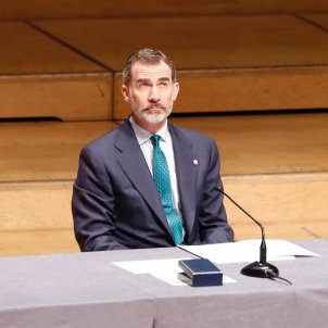 Spanish king avoids European rejection of extradition requests at a frosty event in Barcelona