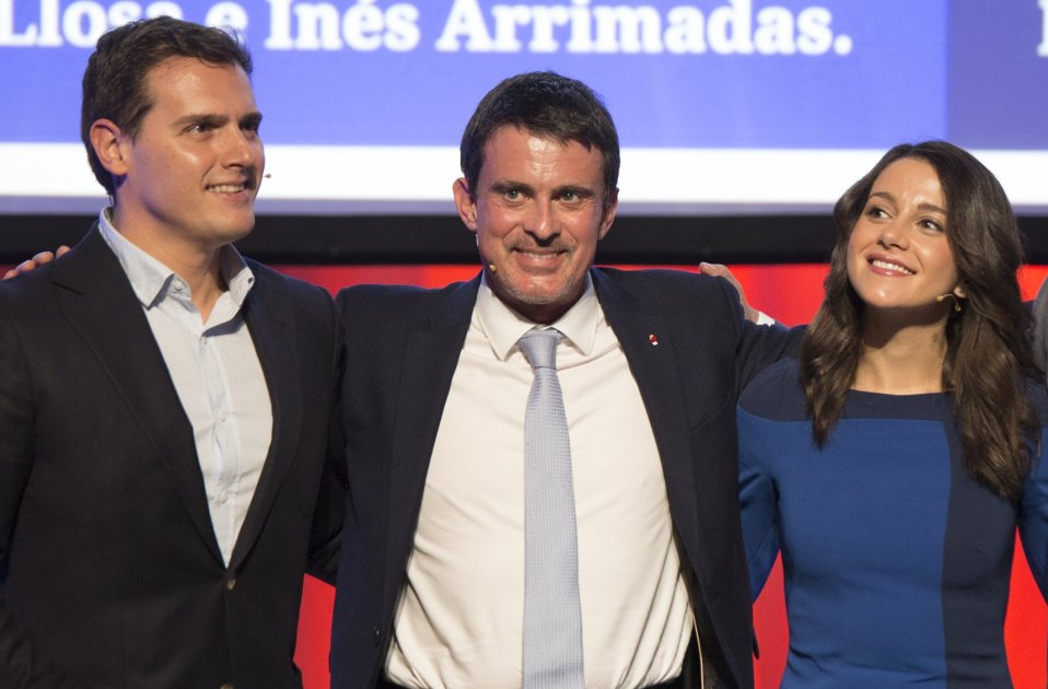 Ciudadanos can't get their story straight on Manuel Valls and Ada Colau