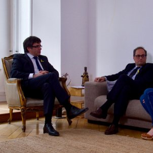 Quim Torra's tweet in response to nomination as president of Catalonia by Puigdemont
