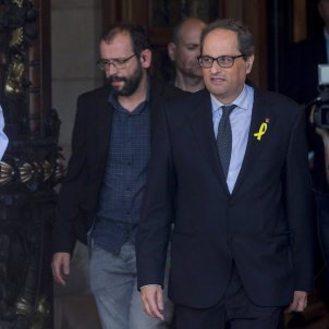 "Quim Torra: ""I'm only considering the possibility of obeying the Catalan Parliament"""