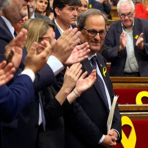 Torra promises to work tirelessly for the Catalan Republic and its Constitution