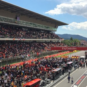 Barcelona's Formula 1 circuit plays Catalan anthem (and unionists are upset)