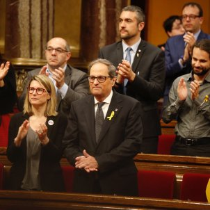 Quim Torra is invested new president of Catalonia, substituting Carles Puigdemont