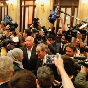 Broad international coverage of Quim Torra's election as Catalan president