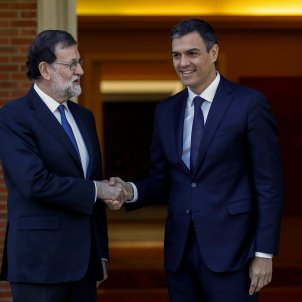 "Rajoy and Sánchez renew their alliance over Torra's ""xenophobic character"""