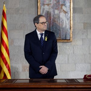 "President Quim Torra's letter to Rajoy asking for a meeting ""with no conditions"""