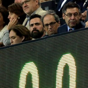 How Bartomeu's snub of president Torra in Barça's executive box came about