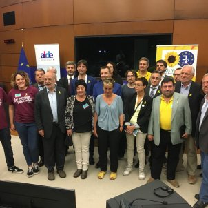 Relatives of Catalan political prisoners, others, denounce their cases in European Parliament