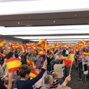 Extremist Vox party arrives in Barcelona to dispute the unionist vote with Cs