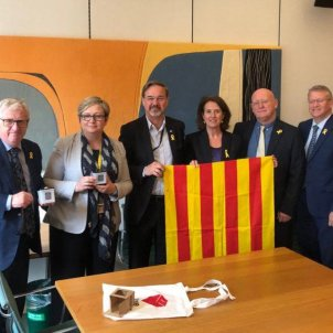 ANC president Paluzie denounces repression in Catalonia to UK MPs and lords