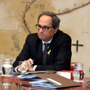 President Torra to present Catalonia in Washington this month