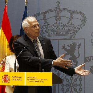 Spanish foreign minister pressed by the BBC over Catalonia